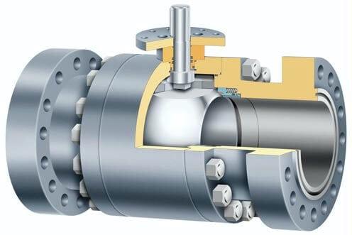 trunnion mounted 3 pieces ball valve - Ball valve