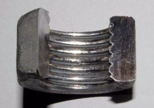 45#鋼螺母螺紋跳閘的原因分析